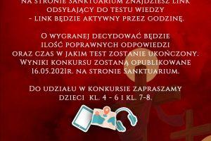 Konkurs wiedzy oZmartwychwstańcach 15.05.2012